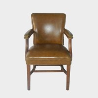 Vintage Traditional Jasper Style Side Arm Chair