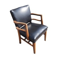 Mid Century Modern Traditional Lounge Arm Chair