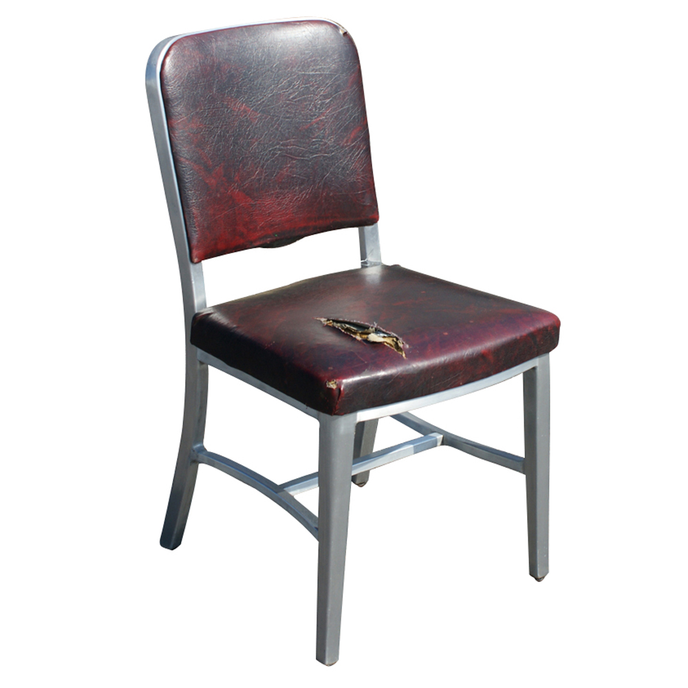 1 Vintage Good Form Aluminum Side Dining Chair  eBay