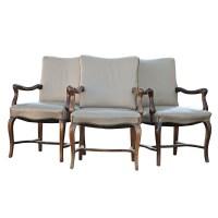 Mid Century Modern Traditional Tan Arm Dining Chair | eBay