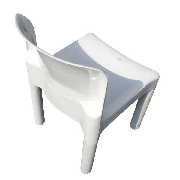 5 Vintage Carlo Bertoli Kartell Italy Chairs 4875  eBay