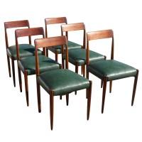 (6) Vintage Danish Niels Moller Dining Chairs | eBay