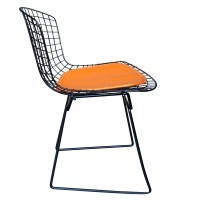 Vintage Harry Bertoia for Knoll Black Side Chair