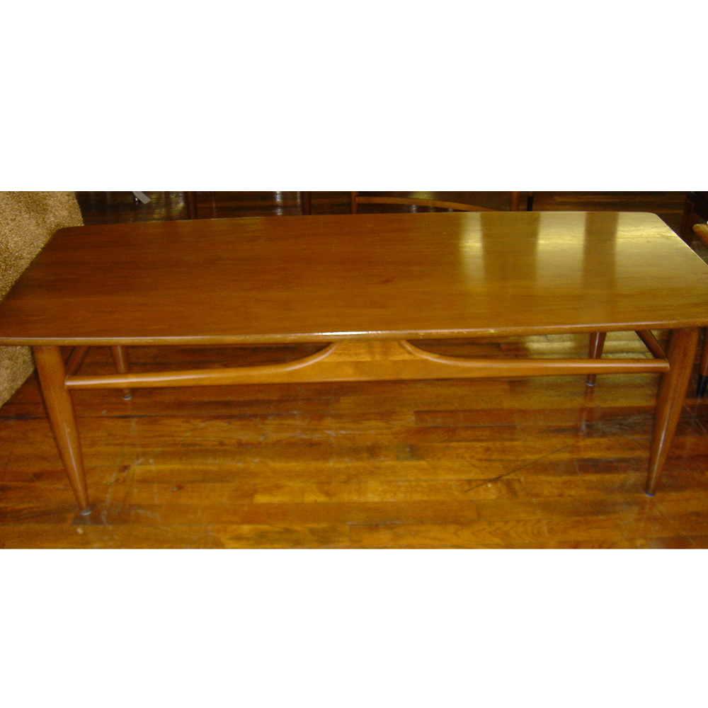 Vintage Mersman Wood Coffee Table  eBay