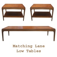 "57"" Vintage Lane Walnut Coffee Cocktail Table PRICE"