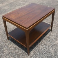 (2) Vintage Lane Walnut Side End Tables | eBay