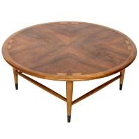Vintage Walnut Lane Acclaim Round Coffee Table   eBay