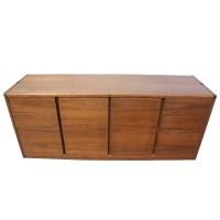 6ft Vintage Steelcase Walnut Credenza File Cabinet | eBay