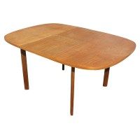 "62"" Vintage Teak Danish Extension Dining Table | eBay"