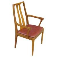 6 Danish Mid Century Modern Dining Chairs   eBay