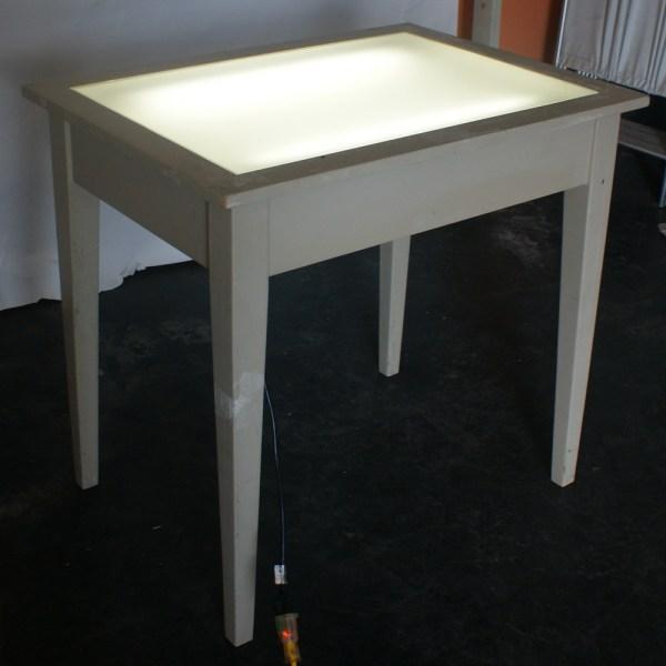 Vintage Drafting Table Light