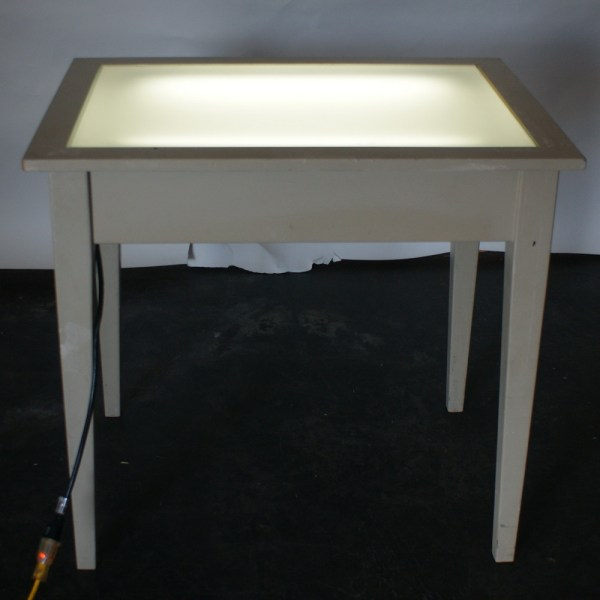 Drafting Light Table with Glass