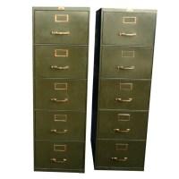 Vintage Metal File Cabinet - Suck Dick Videos