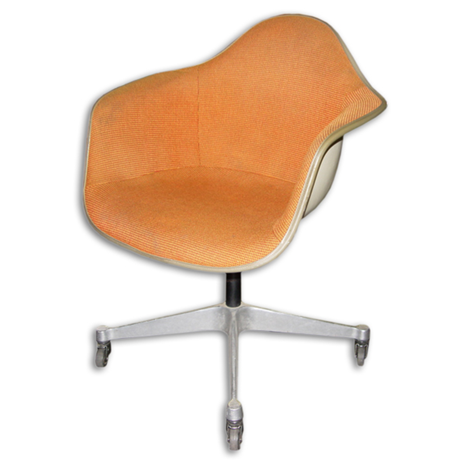 eames arm chair best to use after back surgery 2 vintage herman miller girard fiberglass ebay