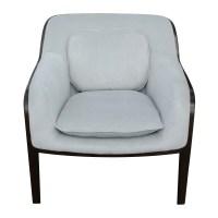 (2) Knoll Bill Stephens Bent Wood Club Lounge Chairs | eBay