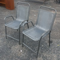 1950s Metal Patio Chairs