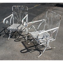 Vintage Patio Chairs