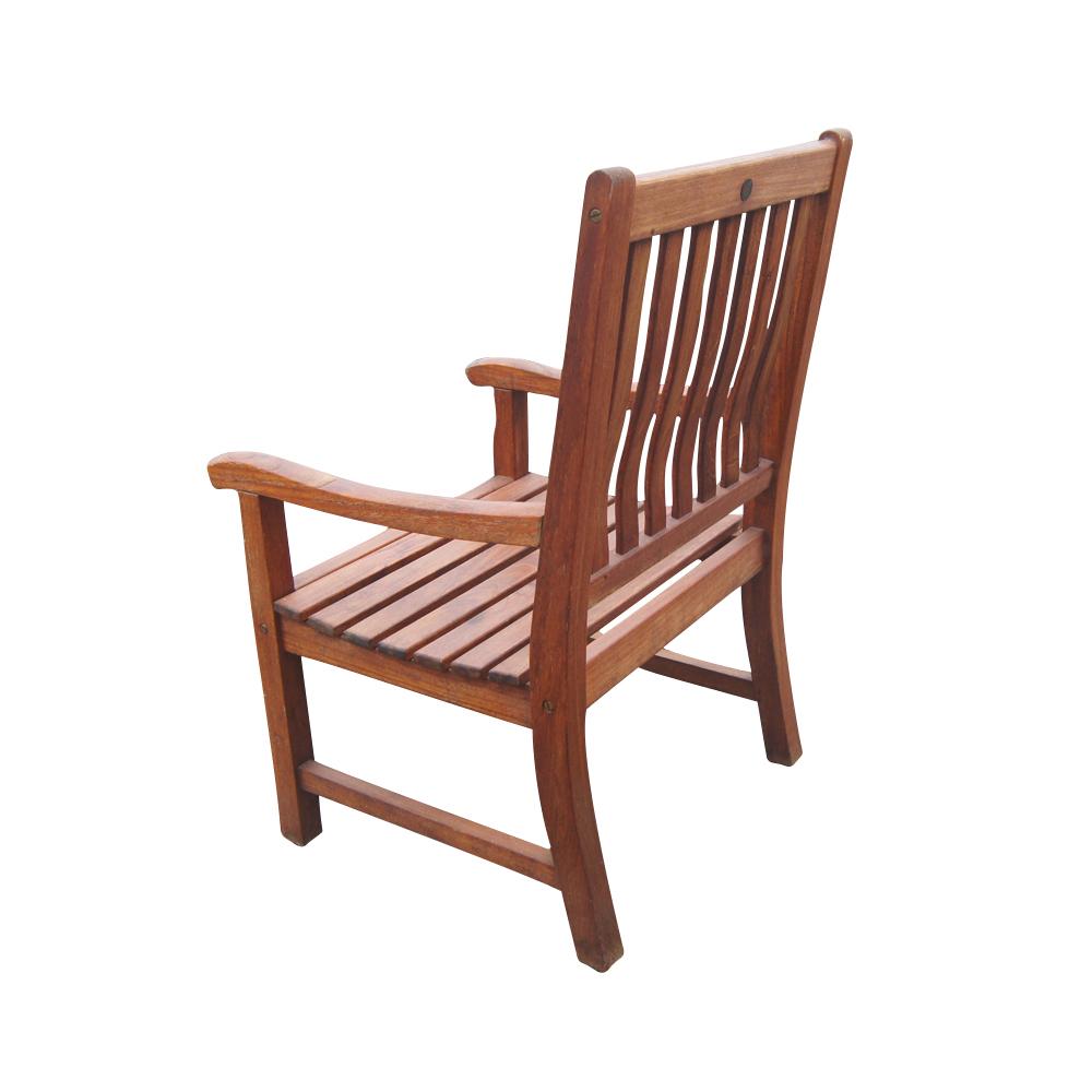 Vintage Nauteak Outdoor Dining Chair  eBay