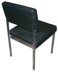 Mid Century Modern All Steel Dining Office Side Chair | eBay