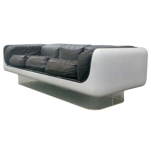 steelcase sofa platner darrin 89 leather at jcpenney midcentury retro style modern architectural vintage furniture from