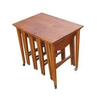5 Vintage Nesting Tables