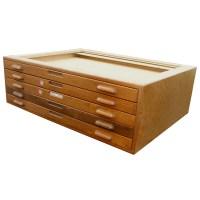 "(1) 45""Wx34""D Vintage Architectural Flat File Cabinet | eBay"