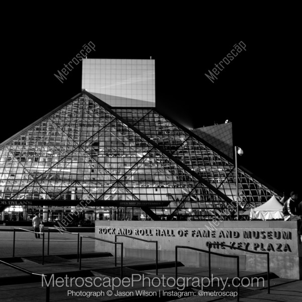 Black And White Of Rock Roll Hall Fame