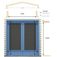 Retractable Screens For French Doors | Retractable Screen ...