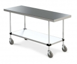 """Metro Small Mobile Clean Tables 24"""""""