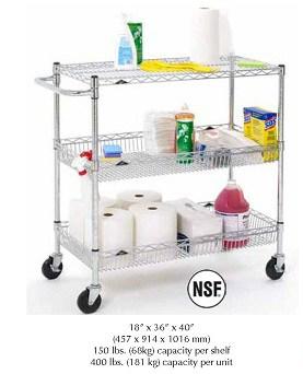 Metro Basket Utility Cart