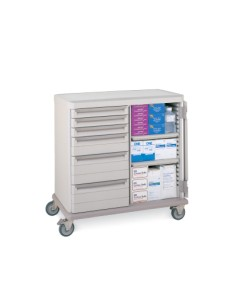 LAR General Supply Cart Double Wide