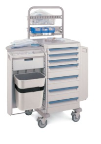 LAR Changing Station Cart