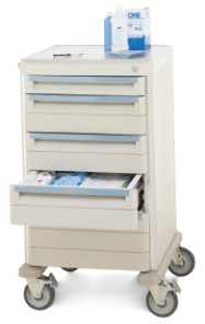 Gowning Storage Cart