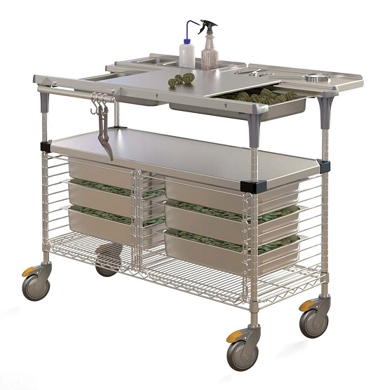 Cannabis Trim Cart