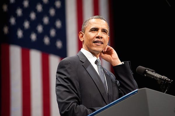 Photo: Barack Obama. Credit: Christopher Dilts/Obama for America.