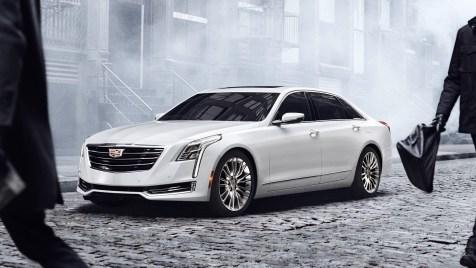 Cadillac CT6, 2016 , Credit - GM