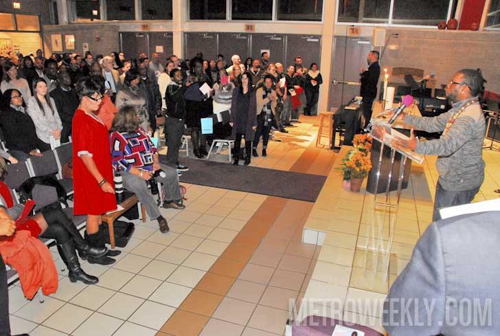 Transgender Day of Remembrance 2015 at MCC DC - Photo: Ward Morrison