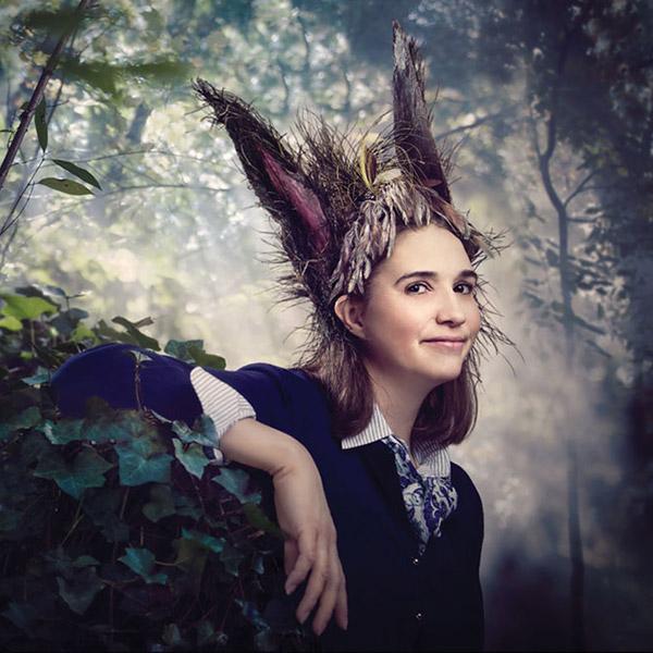 Holly Twyford as Bottom - Photo: James Kegley
