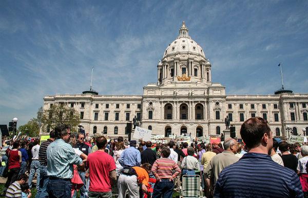 Minnesota State Capitol - Photo: Tony Webster, via Wikimedia.