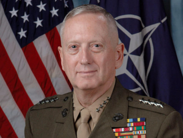 Gen. James Mattis - Photo: U.S. Department of Defense.