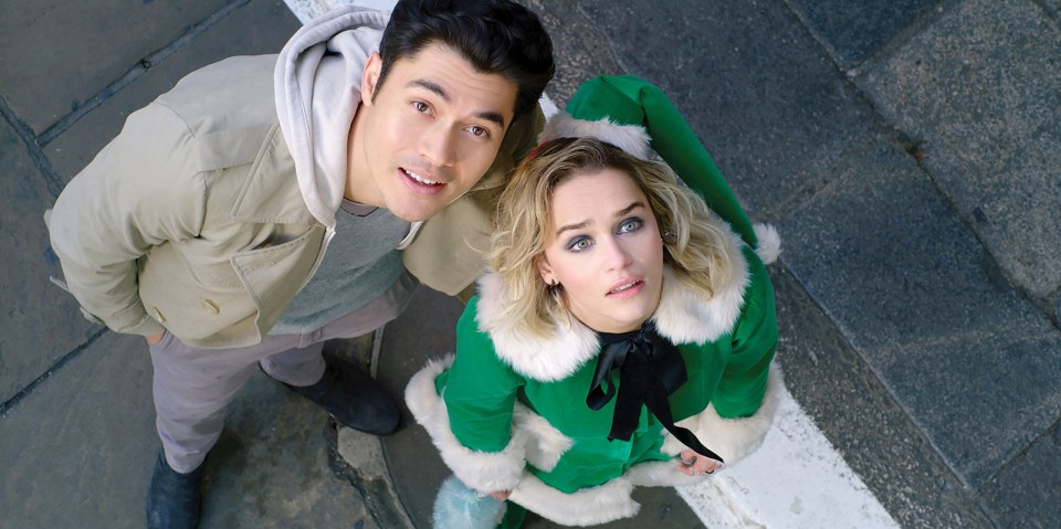 Last Christmas: Henry Golding and Emilia Clarke