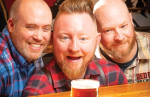 Red Bear Brewing Co.: Simon Bee, Bryan Van Den Oever and Cameron Raspet -- Photo: Todd Franson