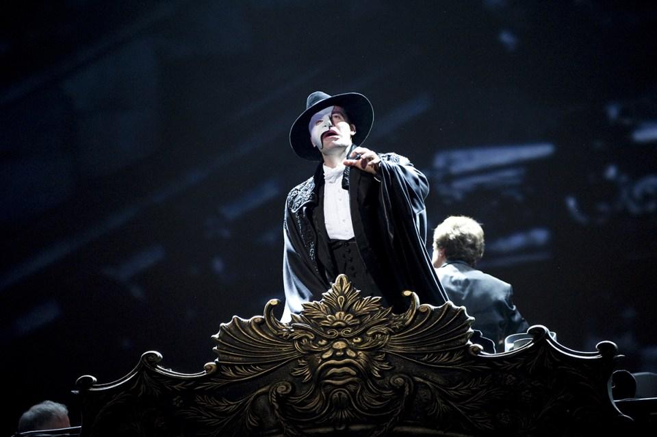 phantom of the opera, andrew lloyd webber, youtube, stream, musical