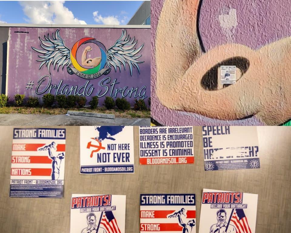 orlando, pulse, memorial, vandal