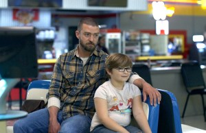 Justin Timberlake and Ryder Allen in Palmer