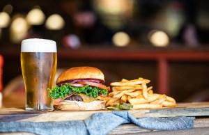 Rock Bottom Bethesda - Classic Burger