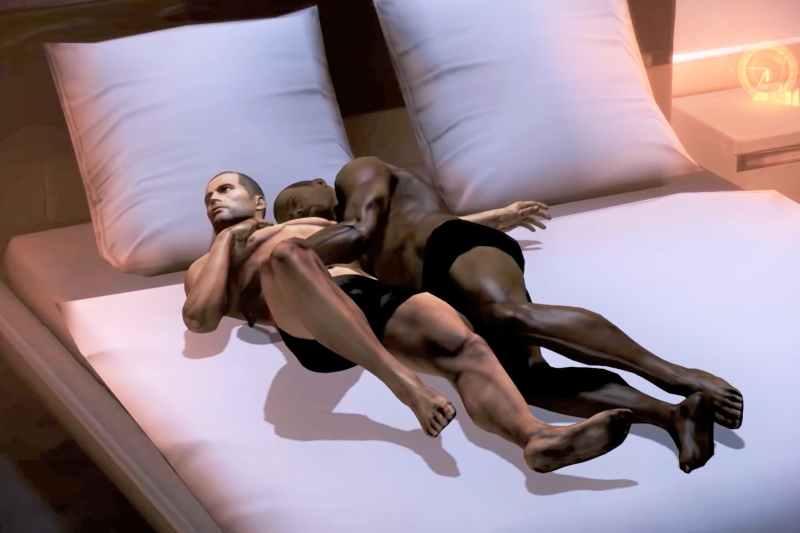 Mass Effect gay same-sex romance
