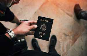 U.S. passport -- Photo by Levi Ventura on Unsplash