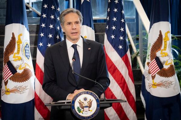 antony blinken, secretary of state, state department