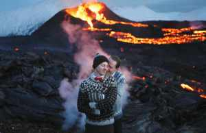 gay, iceland, marry, wedding, volcano